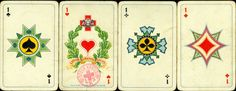 antique playing cards | January 2012