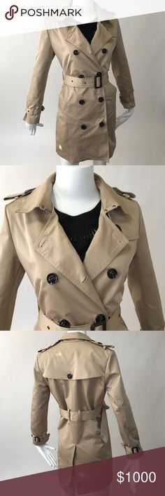 Burberry peacoat Burberry peacoat, shoulder to hemline 33in. 🚫no trades🚫no paypal🚫I will not respond to offers made in the comments. Burberry Jackets & Coats Pea Coats
