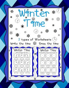 This worksheet set includes 2 types of worksheets: First, students write the time for the given clock. Second, students draw the hands of a clock for the given time.   Includes an answer key and terms of use page.   Great for classwork or homework.