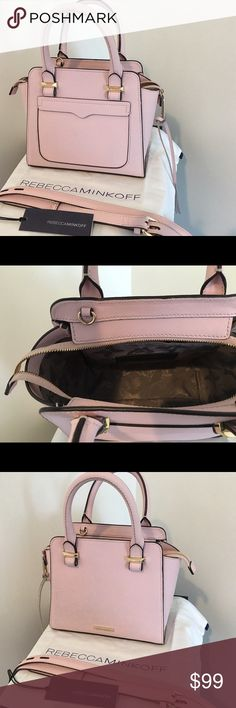 Rebecca Minkoff Baby Pink Micro Avery Tote This beautiful petit bag is a perfect everyday carryall! Lightly used, in perfect condition. Rebecca Minkoff Bags Totes