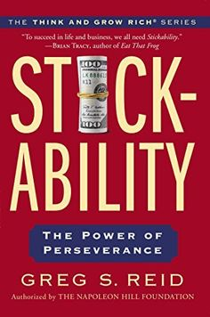The winning attitude your key to personal success 0020049043776 stickability the power of perseverance think and grow rich https fandeluxe Gallery