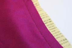 How To : Sewing delicate or bias cut fabrics