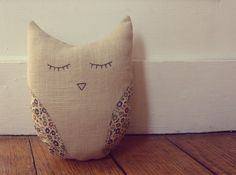 Owl DIY pillow
