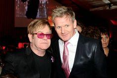 Sir Elton John, Gordon Ramsey