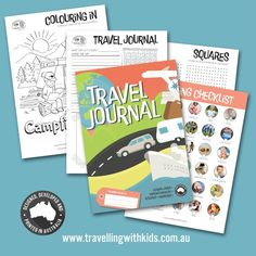 Kids Travel Journal proudly designed and printed in Australia! Create a keepsake that will last for years. 92 journal pages, packing checklist, address book, plastic jacket. Kids Travel Journal, Travel Journals, Travel With Kids, Family Travel, Excited Pictures, Travel Oz, Books Australia, Welcome Letters, Packing Checklist