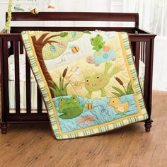In The Pond 4 Pc. Crib Set | Nursery Collections In the Pond