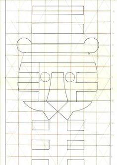 Tom Eckersley — Sketch for Greetings 1983 (1983)