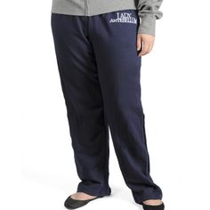 Comfortable navy sweatpants with the Lady Antebellum logo embroidered in white.