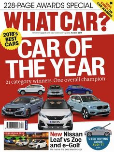 What Car Awards 2018