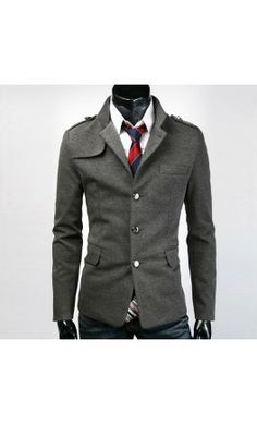 LOVE THIS! Mens Single breasted modern fit blazer.