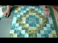 Patchwork Ao Vivo #40: toalha natalina com técnica Volta ao Mundo - YouTube