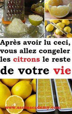 Après avoir lu ceci, vous allez congeler les citrons le reste de votre vie #citron #cancer #tumeurs #congeler #maladies Cello, Sante Plus, Nutrition, Body Care, Health And Beauty, Natural Remedies, Healthy Life, Good Food, Health Fitness