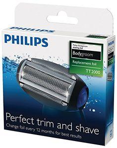 Philips TT2000/43 Grille de rechange des têtes de rasage Philips TT2021 à TT2030: Tête de rasage de rechange TT2000/43 pour tondeuses corps…