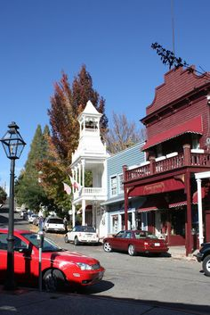 My Romantic Home: Oh such a quaint little town. Nevada City California, Central Valley, Romantic Homes, Ghost Towns, Small Towns, Wonderful Places, Us Travel, Places Ive Been, Places To Visit