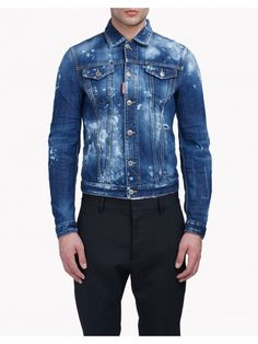 6825fce58 Baker Denim Jacket Men is available in Dsquared Sale and Dsquared Outlet  online store including jeans sale.