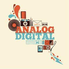 Analog vs Digital by Nick Schmidt