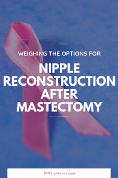 Patients today have many choices to consider when faced with a breast cancer diagnosis. For patients who are not candidates for nipple-sparing mastectomy (or for those who choose not to save their nipples), nipple/areola reconstruction is an option. Plastic Surgery Procedures, Breast Cancer, Choices, Face, The Face, Faces, Facial