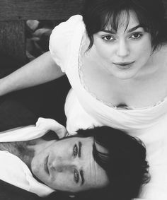 Pride and Prejudice. Keira Knightley as Elizabeth Bennet and Matthew Macfadyen as Mr. Darcy