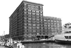 The Candler Building on the waterfront in downtown Baltimore, Maryland. This is where the first Social Security numbers were issued.