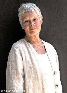 DAME JUDI DENCH...Magnificent<3 CH, DBE, FRSA is an English film, stage and television actress. Dench made her professional debut in 1957 with the Old Vic Company  Born: December 9, 1934 (age 77),