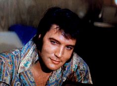 Elvis Presley before his opening show at the International Hotel in Las Vegas, NV, August 10, 1970. ""