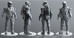ArtStation - Space Miner., Oleg Aleinikov