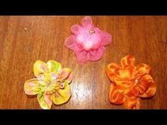 Flores para bordados