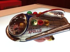 50's space toy #space
