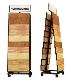 Item A-Frame Flooring Sales Display Stand Racks Display can be Customized as your sample size. Material: Metal steel Header: logo Available Custom Tile Showroom, Showroom Design, Showroom Ideas, Flooring Shops, Flooring Sale, Graphic Wallpaper, Store Displays, Bottle Crafts, Custom Design