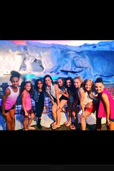 Hey guys having so much fun with the girls oh btw the new dancemom girl payton love her she is like roof touching tall lol!!!...