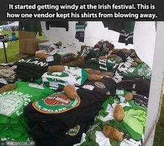 How they do it in Ireland...haha this is funny.