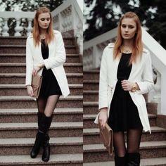 Black & white  - więcej na stylizacje.pl