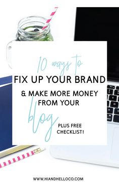 Have you ever looked at your brand as whole and wondered if it's 'money ready? You could be a new blogger, or a seasoned one. Or a business with an awesome blog. In this post we will cover 10 ACTIONABLE steps you can take right not to make your brand and website ready to earn money! Click through for a free checklist and enroll in my FREE 5 day email course that will give you a crush on Affiliate Marketing!