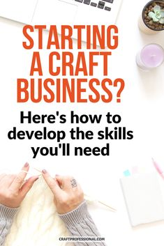 Starting a craft business? Here's how to develop the skills you'll need. Here are 9 of my favorite online courses that teach business skills for creative professionals and artists. #craftbusiness #craftprofessional Diy Gifts To Sell, Make To Sell, Crafts To Sell, Things To Sell, Selling Crafts Online, Craft Online, Craft Business, Business Ideas, Creative Business