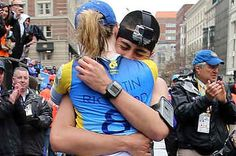 Two Runners Got Engaged At The Boston Marathon Finish Line