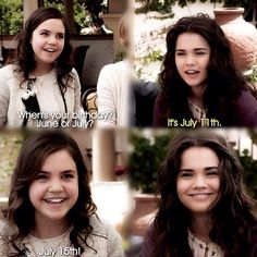 "#TheFosters 2x04 ""Say Something"" - Callie and Sophia"