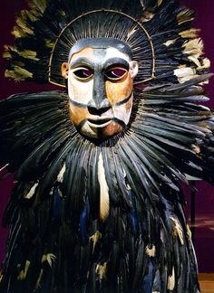 Ceremonial African tribal mask