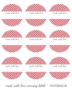 Day 33 Handmade Gift: Apple Butter Recipe (with no added sugars) and Printable Canning Labels