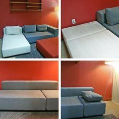 Recliner Sofa  Recently Discontinued Sofa Sleepers from DWR u Sofa Sleeper of the Week