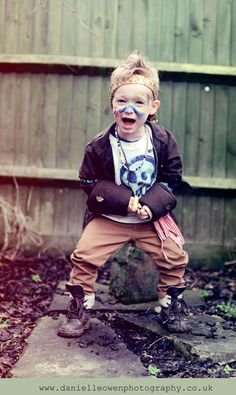#lostboy wild Rambo editorial photography kids Danielleowenphotography