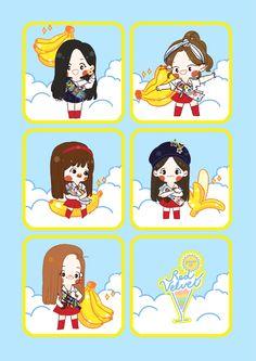 Rv Wallpaper, Velvet Wallpaper, China, Kpop Fanart, Cute Drawings, Red Velvet, Fan Art, Cartoon, Kpop Fashion