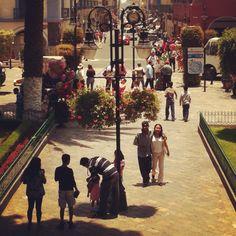 Zócalo de Atlixco, Puebla. Muchos recuerdos!