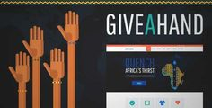 Download and review of GiveAHand - Charity Responsive WP Theme, one of the best Themeforest Non-profit themes