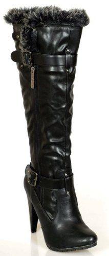 Designer Knee-High LUXURY Black Fashion Zipper Elegant Stiletto BOOTS Women's Imports, http://www.amazon.com/dp/B006QHD1SO/ref=cm_sw_r_pi_dp_vdFNqb0M5GTYS