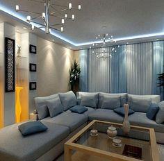Cool White Lumilum Strip Light used for cove lighting