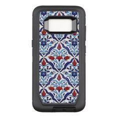 #Iznik Tiles OtterBox Defender Samsung Galaxy S8 Case - #flower gifts floral flowers diy
