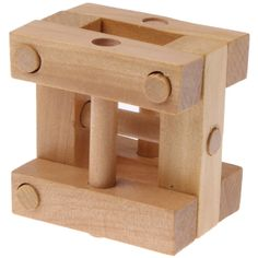 [$1.69] Intelligence Wooden Pull-Apart IQ Puzzle Magic Cube Toy
