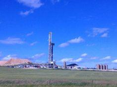 Drill site in Montana farm country Energy Industry, Country Farm, Willis Tower, Montana, Drill, Construction, Building, Travel, Flathead Lake Montana