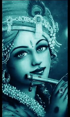 Krishna is extremely beautiful.