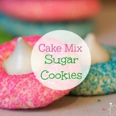 These Cake Mix Cookies are an Easy Cheat for Sugar Cookies